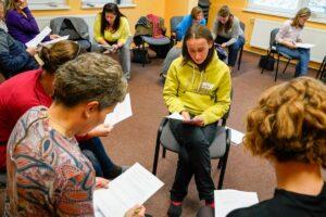 Eva Mikešová - skupinová práce v semináři Emoční inteligence