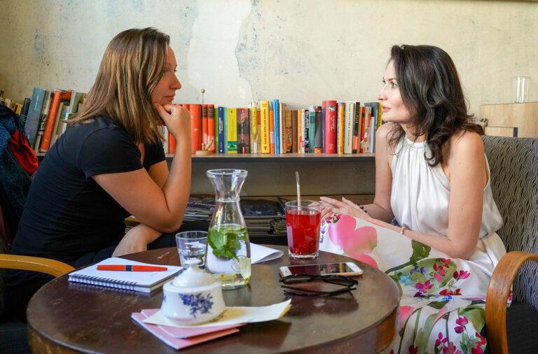 Rozhovor s Evou Mikešovou o všem možném s Evou Klapkou Koutovou