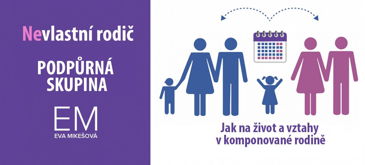 Seminář - Nevlastní rodič | Plzeň | Mgr. Eva Mikešová