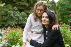 Mgr. Eva Mikešová s dcerou Magdalenou | psychologické poradenství